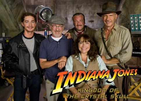 Indiana Jones, foto do site oficial