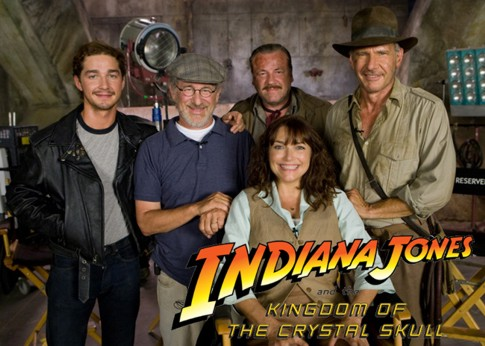 Indiana Jones, foto do site oficial