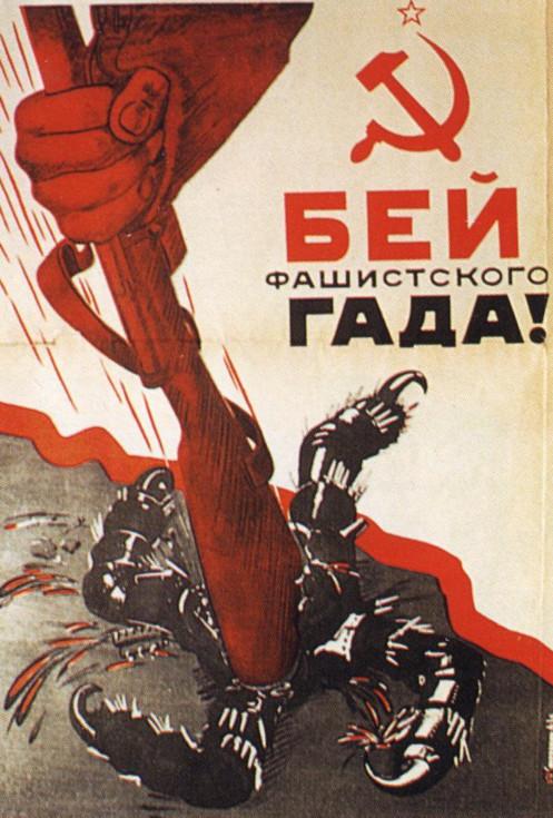 Cartaz Soviético