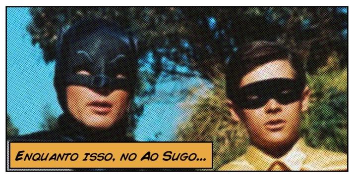 Super heróis na televisão