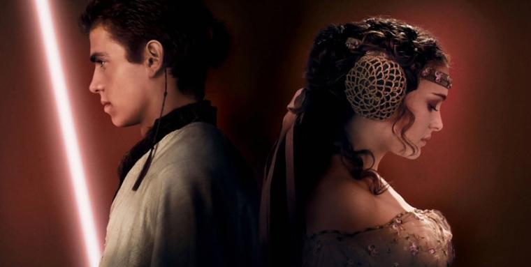 Anakin Skywalker e Padme Amidala