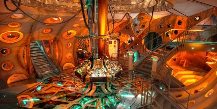 TARDIS - Dentro