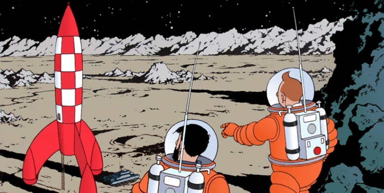 Tintin - Explorers on the Moon (1954)
