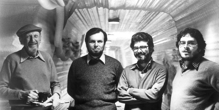 Produção de O Império Contra-Ataca: Diretor Irvin Kershner, Produtores Gary Kurtz, George Lucas e Roteirista Lawrence Kasdan