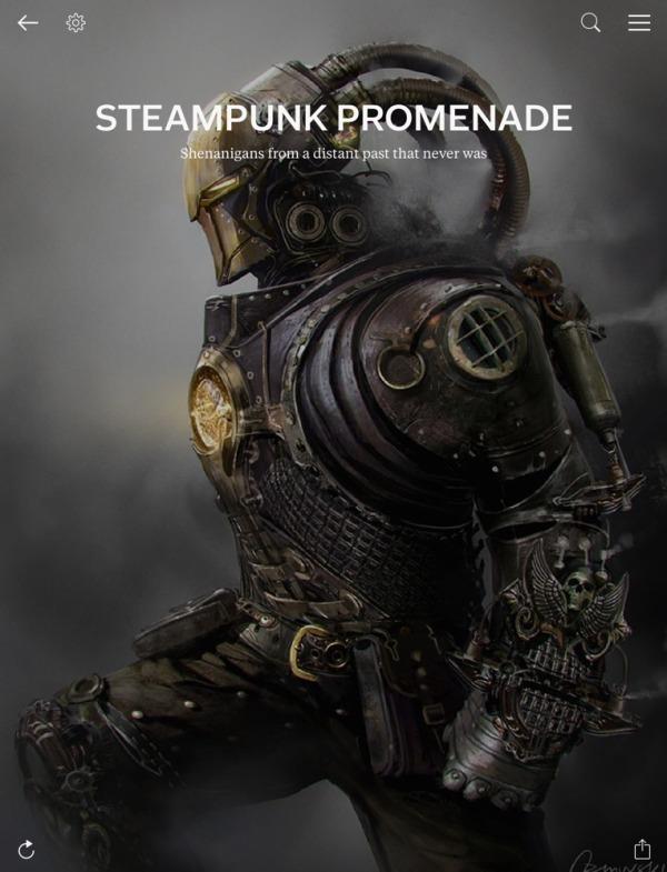 Steampunk Promenade