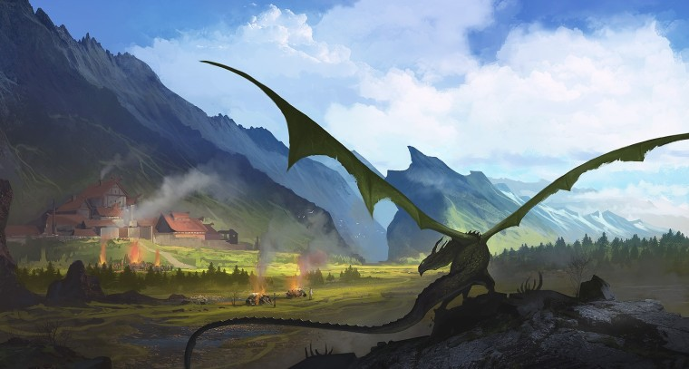 before_the_attack_of_the_dragon__tightrope_games_by_sergeyzabelin-d8z6w7a