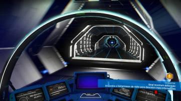Entrando na Estação Espacial Gek